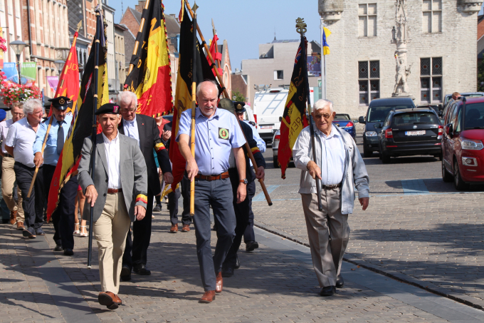 Viering nationale feestdag in Herentals