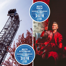 Bobbejaanland sleept twee Diamond ThemePark Awards in de wacht