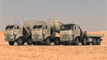 DAF levert aan defensie 879 all wheel drive CF