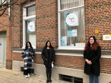 kOsh Campus Collegestraat : 'Unizo leeronderneming Local 37 – opening winkel'
