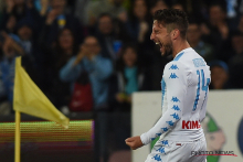 Dries Mertens verlengt contract bij Napoli