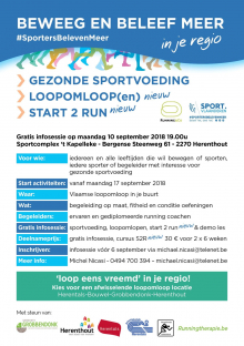 Start 2 run - loopomlopen - info sportvoeding
