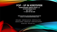 Tabula Rasa organiseert twee Pop-Up dagen in kerstsfeer