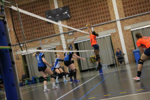 Volley dames 1e div: VCHH – Datavoc Tongeren 1-3