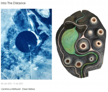 'Entre chien et loup' en 'Into the distance' in The Whitehouse Gallery vanaf 6 juni