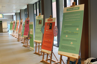 Expo 'Vlaamse Meesters' in AZ Turnhout