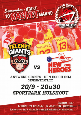 Antwerp Giants in Hulshout Basket Zuiderkempen