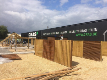 Cras opent 14e woodshop : Herenthout Atealaan