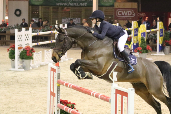 Herentalse Lien Van Ende wint 1.40m hoofdrubriek nationale Silver League