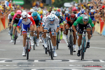 "Hattrick voor groene trui: Sagan is ook ""the best of the rest"""